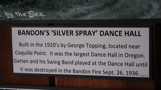 Silver Spray Dance Hall, Bandon, OR