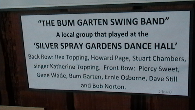 Bum Garten Swing Band, Bandon, OR