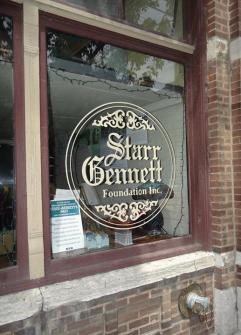 Starr Gennett window