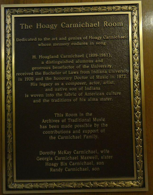 Hoagy room