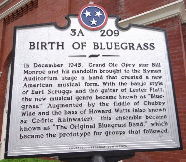 Nashville Bluegrass origins